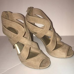 New Tan Strappy Sandal Size 11
